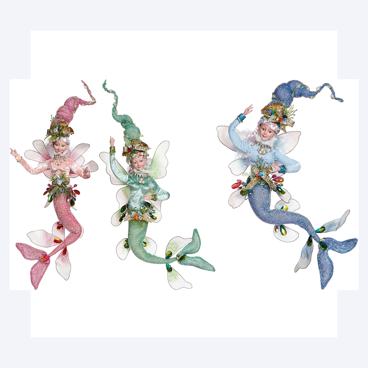 Mermaid Fairy Set/3 58cm