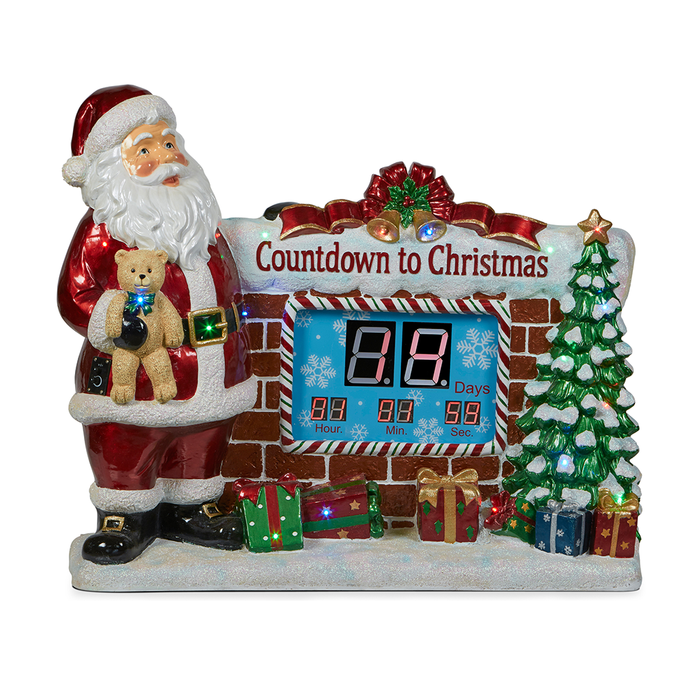 Santa CountDown Clock w ithmusic LED859.00