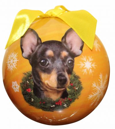 Hanging Bauble - Staffordshire Bull Terrier