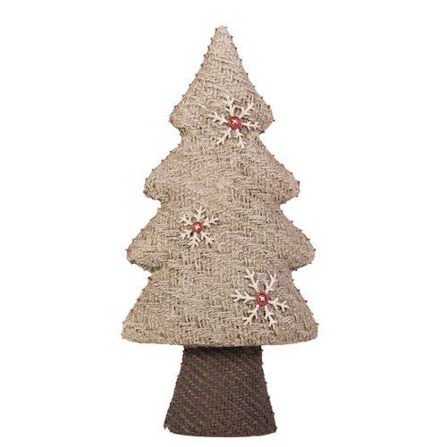 Deco -Brown Weave Resin Tree