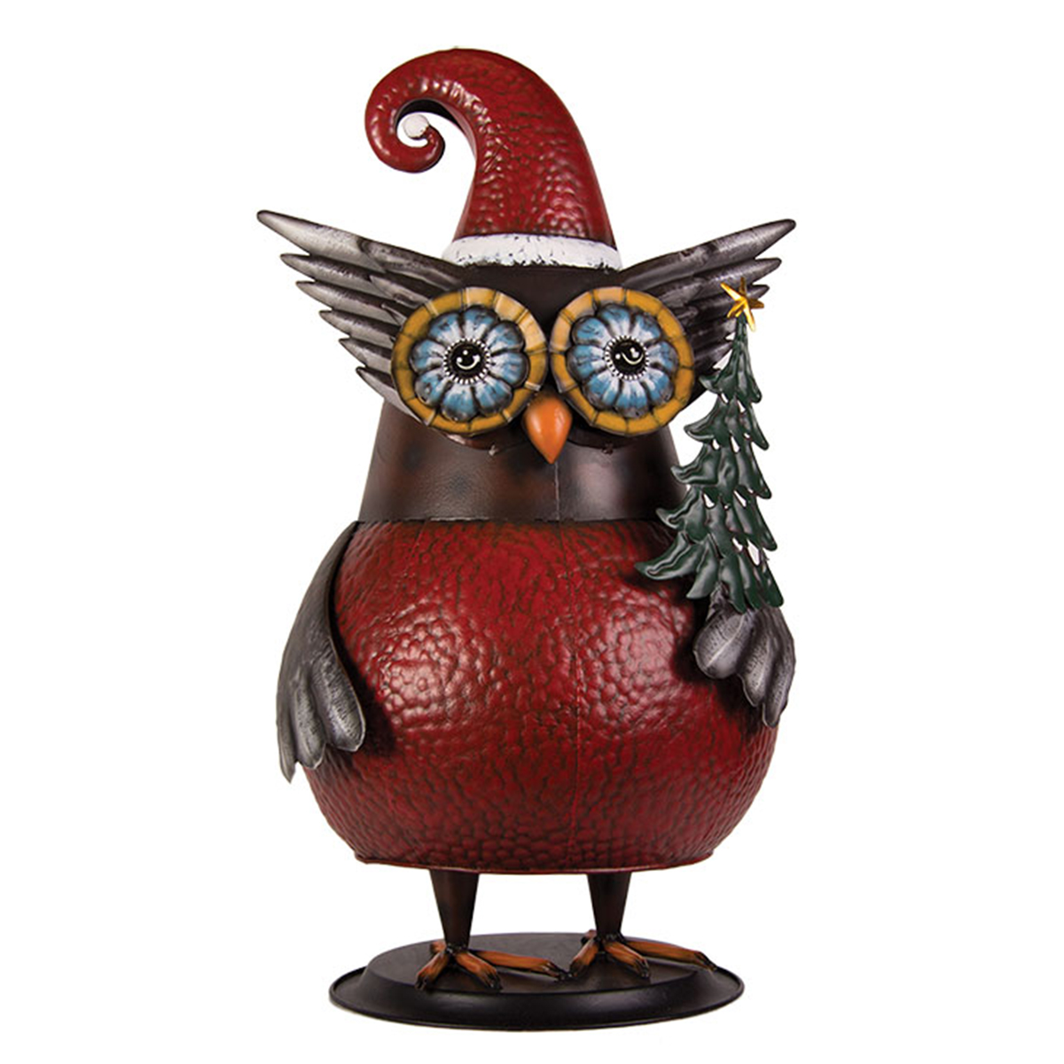 Tin Wobbly Owl