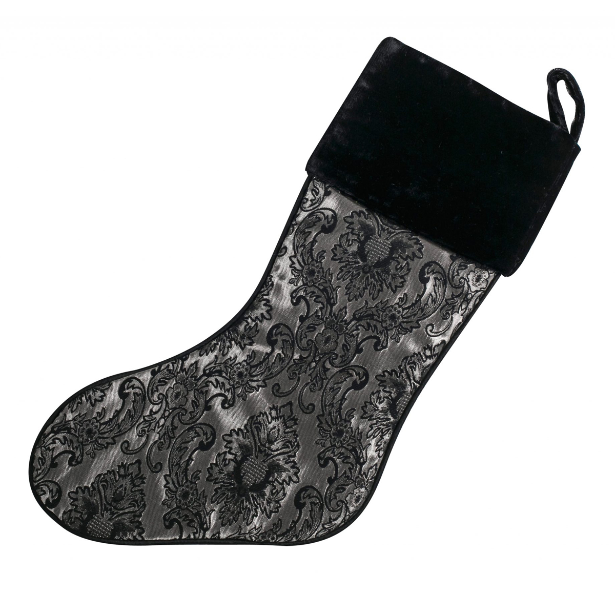 Damask Taj Mahal Stocking