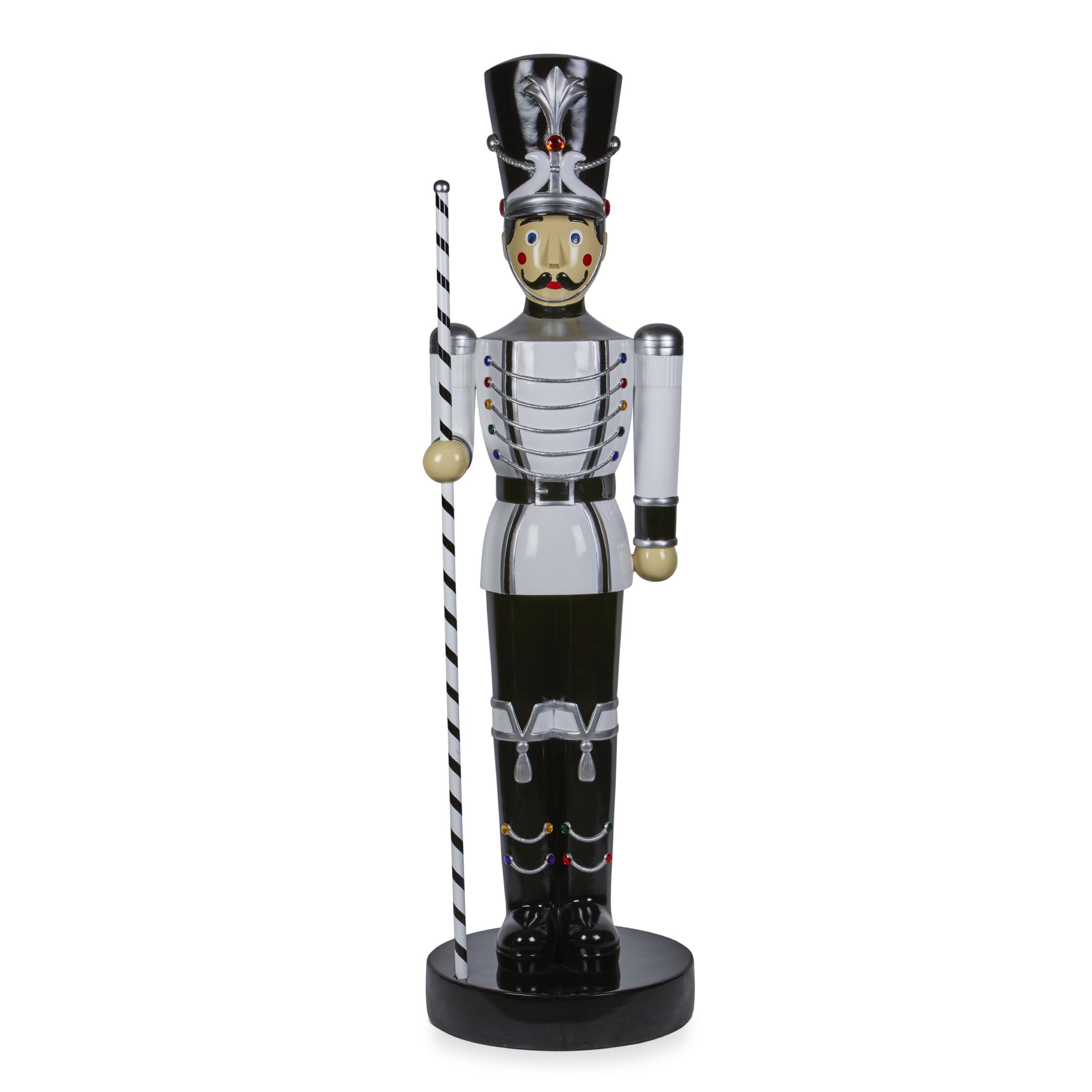 White Toy Soldier-Baton 198cm