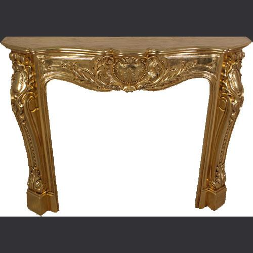 Gold Mantle Piece
