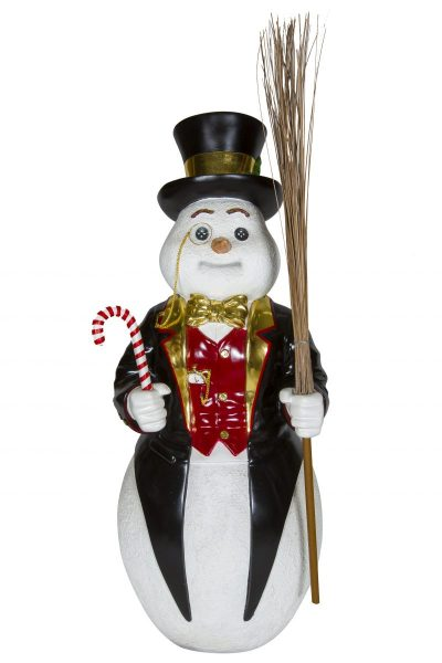 Snowman with Glasses 122cm H