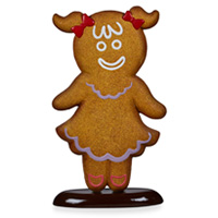 Gingerbread Girl 64 x 20 x 107cmH