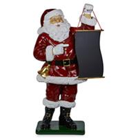 Santa with Menu Board 122cm H