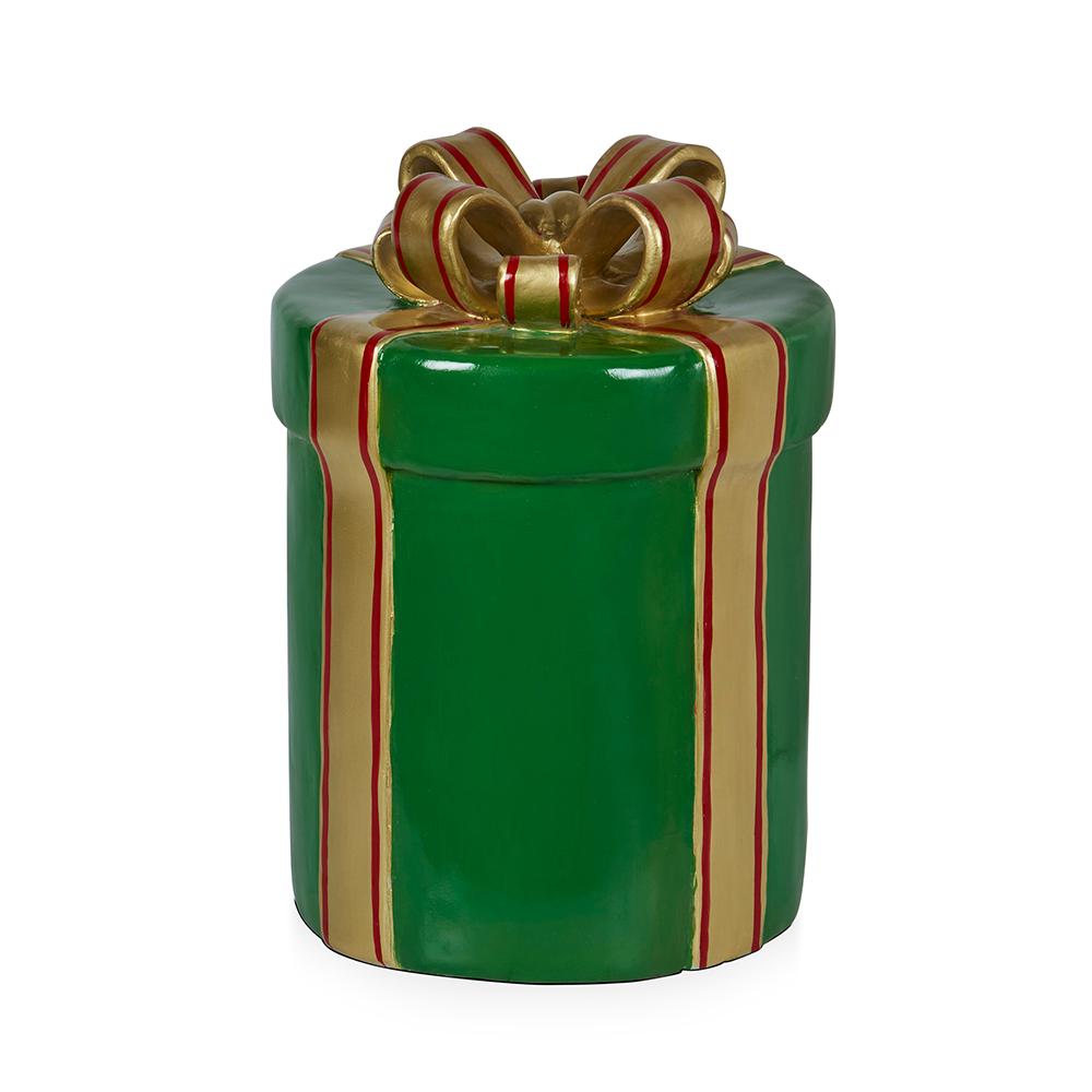 Green Gift Box 64cm H