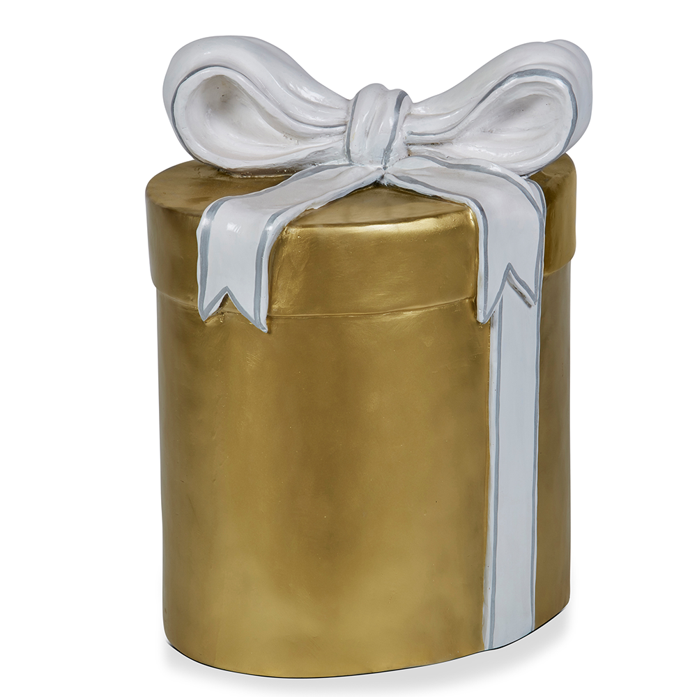 Gold Gift Box 64cm H