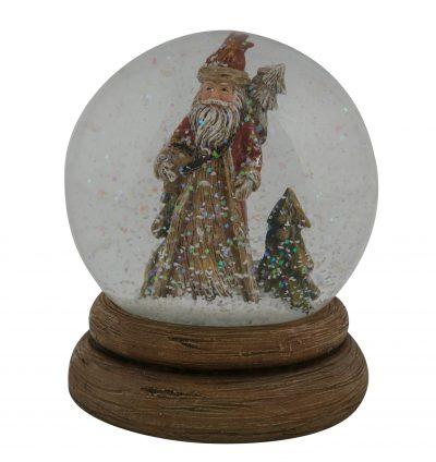 Santa Tree Waterball 12cm