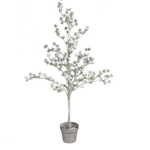 Snowy Pine Potted Tree 124cm H