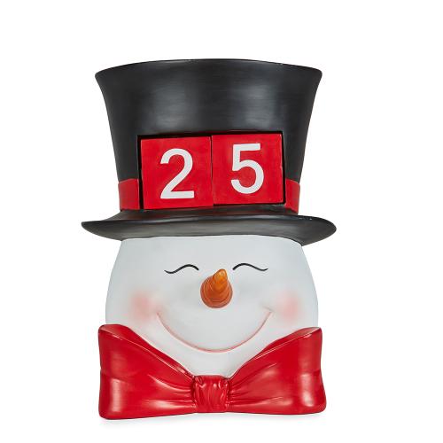 Snowman Head Calender 30cm