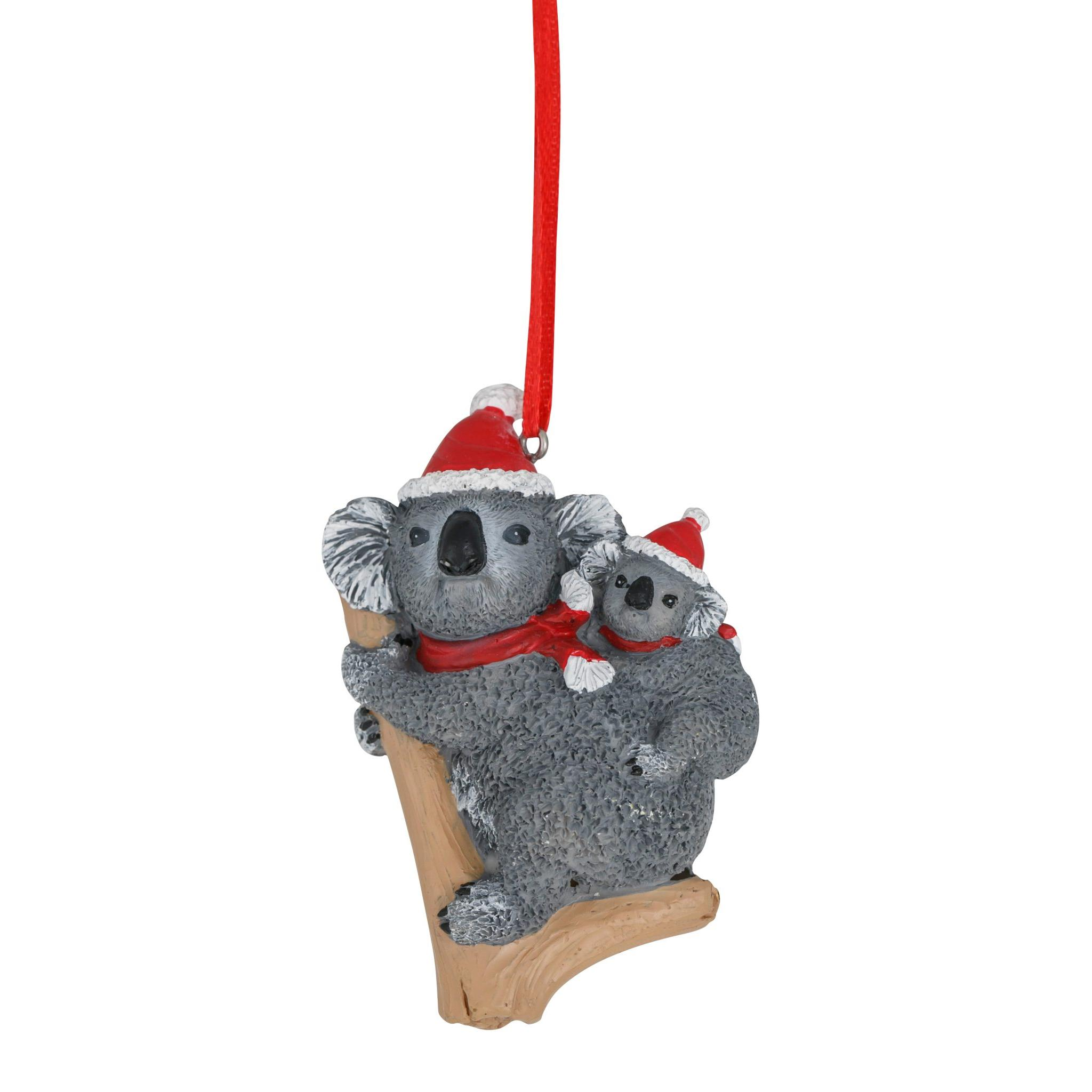 Koala & Joey Hanging Decoration 8cm