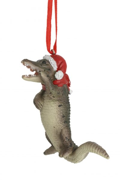 Standing Crocodile Hanging Decoration 8cm