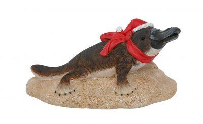 Platypus Christmas Figure Scarf 15cmH