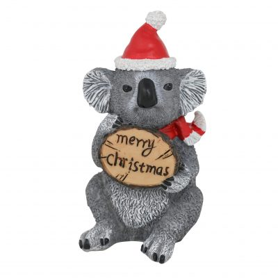 Koala Sign Christmas Figure 13cm