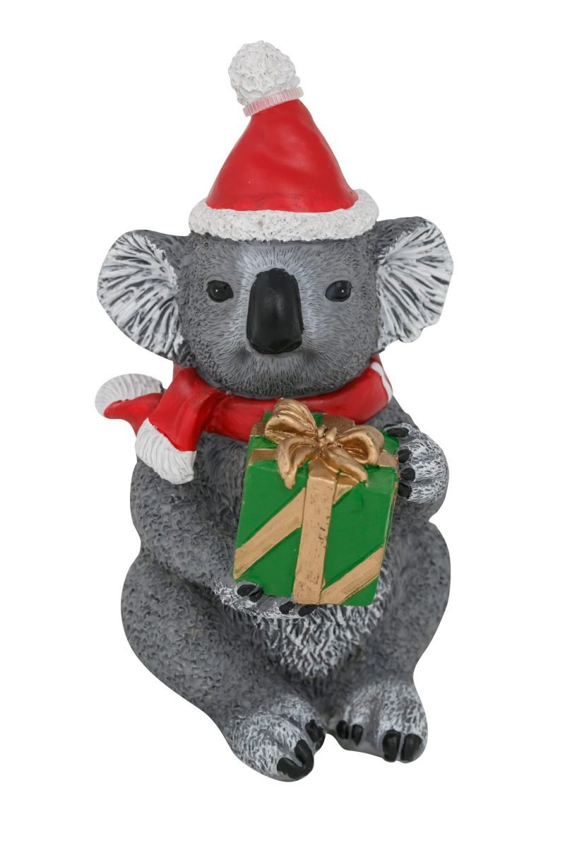 Koala Present Christmas Figure 13cm