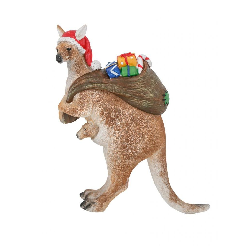Roo Stand Left Christmas Figure16cm