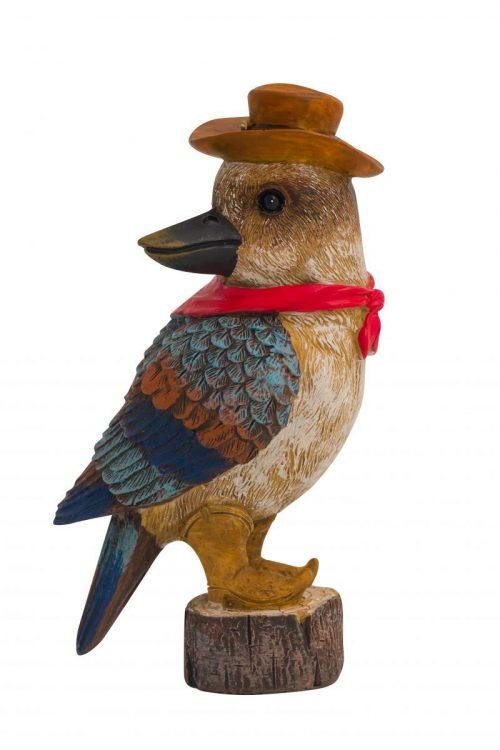 Cowboy Kookaburra Figure 12cm