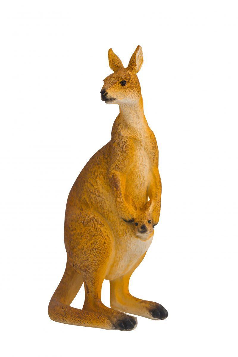 Mum & Baby Kangaroo Figure 15cm