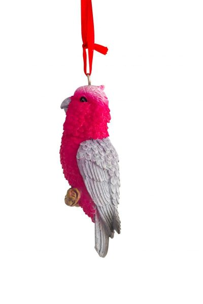 Galah Hanging Decoration 8cm