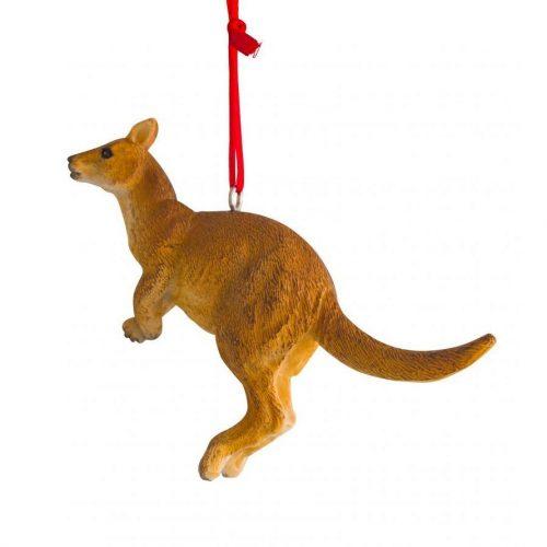 Jumping Kangaroo Hanging Decoration 7cm