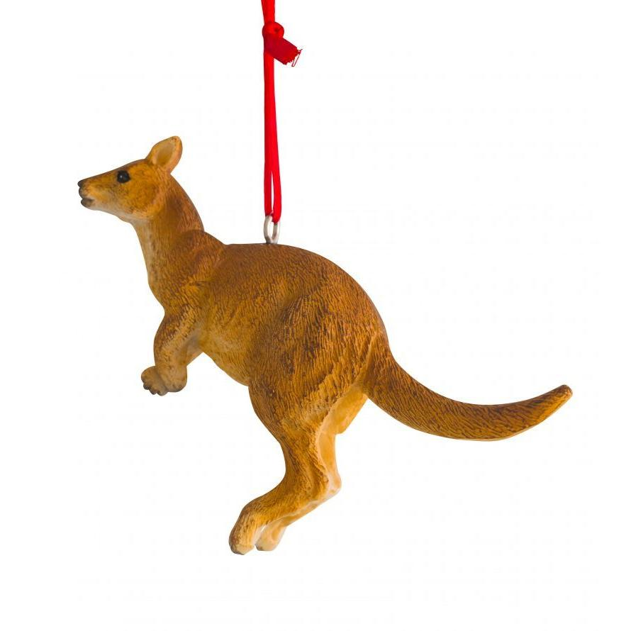 Jumping Kangaroo Hanging Decoration 7cm