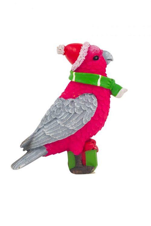 Christmas Galah Figure 10cm