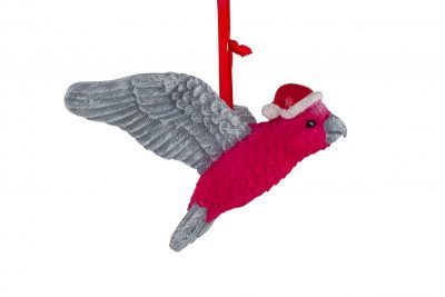Christmas Galah Hanging Decoration 7.5cm