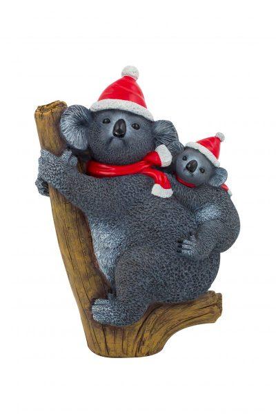 Christmas Koala Figure 27cm