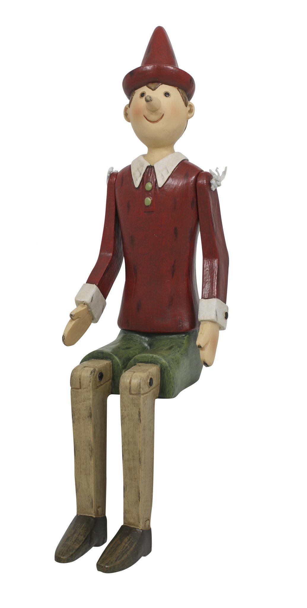 Pinocchio Ledge Sitter 30cm