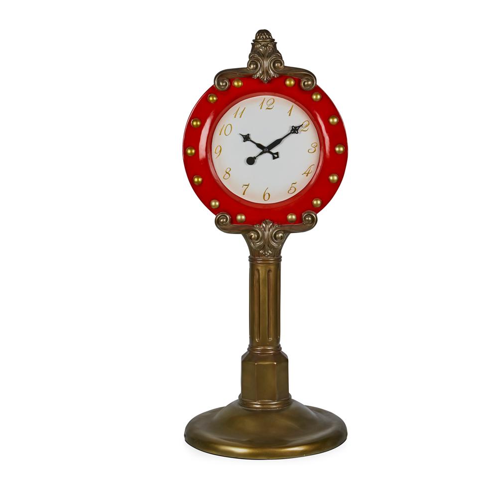 Santa Clock 160cm H
