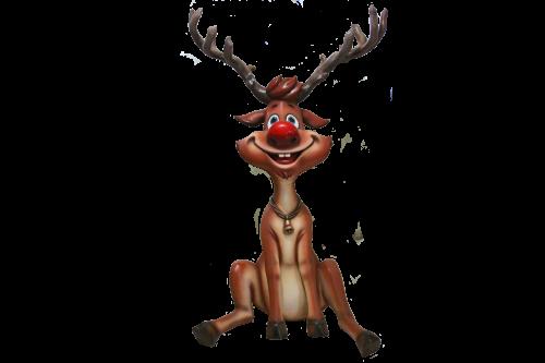 Reindeer Sitting 140cm H