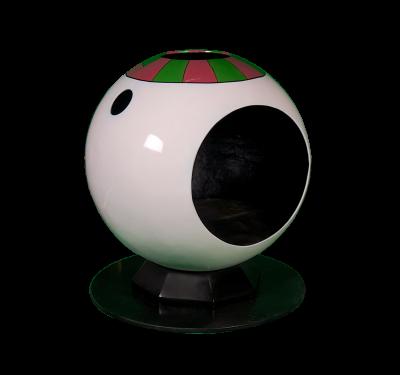 Snowman Bubble Pod 125cm H