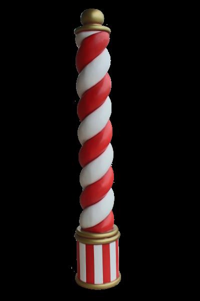 Candy Cane Pillar 240cm H