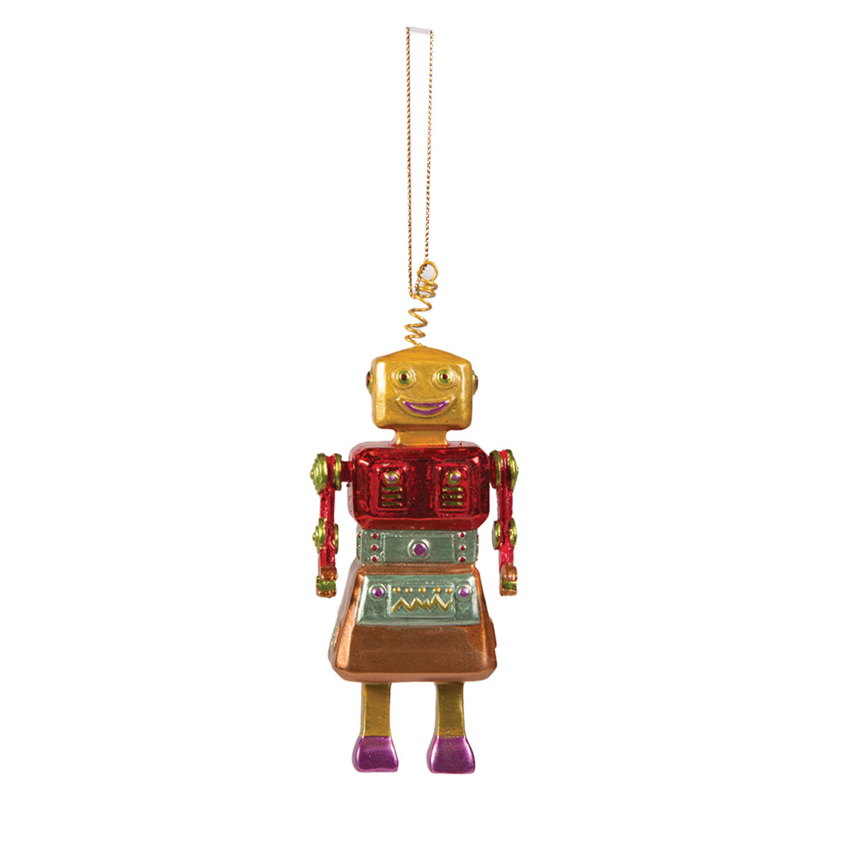 Tree Deco -Robot Hanger in Skirt